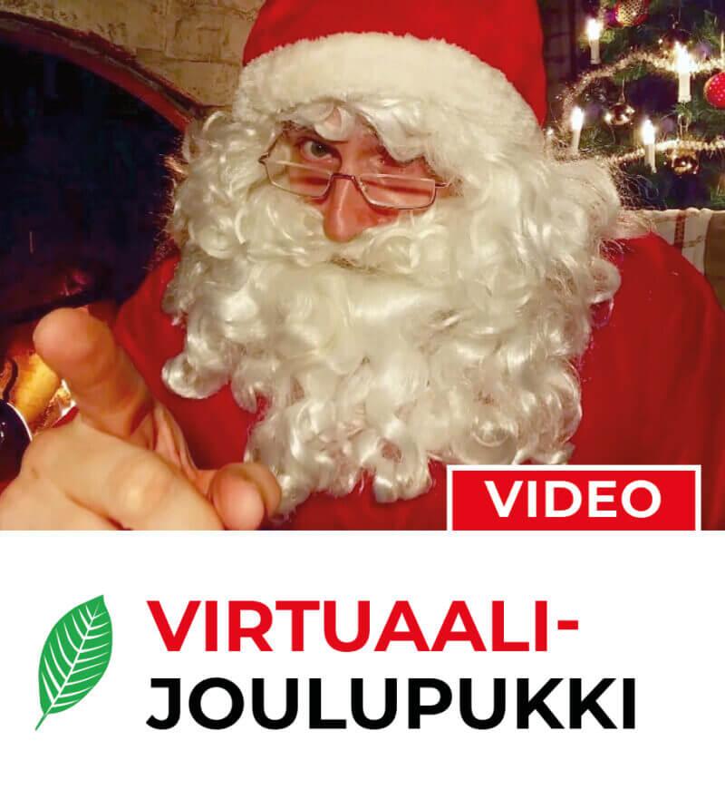 Joulu pelastettu! Virtuaalipukki