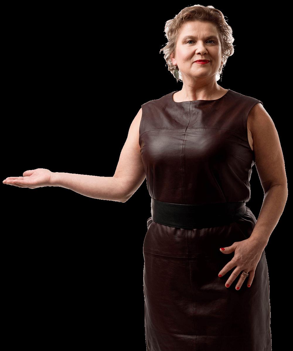 Kulttuuritoimituksen kauppa, kauppias Hanna-Liisa Onnela