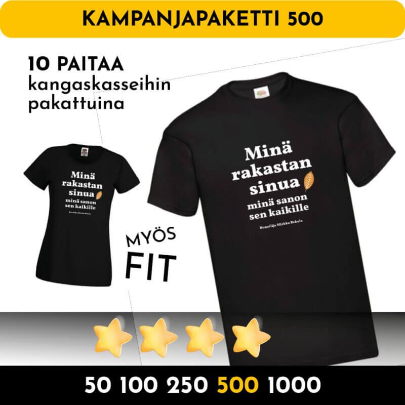 tonnilla paitoja kampanjapaita 500 1